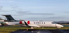 N40XR Lear Jet, Dundee (wwshack) Tags: businessjet corporatejet dnd dundee egpn executivejet lj45 learjet riverside scotland n40xr
