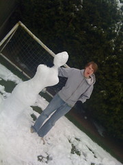 Snowbabe & Laurence... (NeilStephenson) Tags: snow snowman neil laurence stephenson neilstephenson snowbabe laurencestephenson