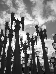 Urban Lights (Keta Goes Global) Tags: california bw losangeles lacma losangelescountymuseumofart urbanlights theunforgettablepictures unforgetablepicture
