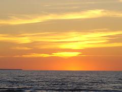 Setting Sun... (saturday_rock_action) Tags: sunset sun lake water clouds wasagabeach settingsun