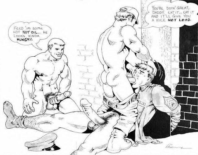 Big cock gay men