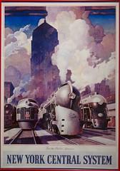 vintage (jetrotz) Tags: new york newyork art museum train vintage poster rochester strong artdeco deco strongmuseum