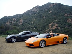 Lamborghini Murcielago LP640 & Ferrari 599 GTB Fiorano (underwhelmer) Tags: ferrari lamborghini gtb supercars murcielago 599 fiorano lp640