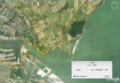 Walking the North of Amsterdam (Bart van Dijk (...)) Tags: amsterdam walk googleearth durgerdam waterland wandeling holysloot ransdorp oostwaterland