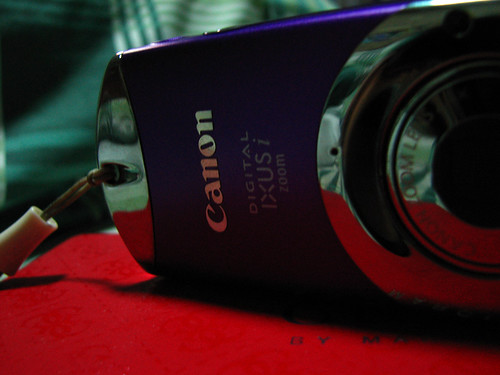 Goodbye Canon Ixus iZoom