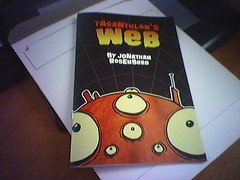 Proof Copy of Tarantulon's Web (diablochicken) Tags: 2005 comics pig spider spey