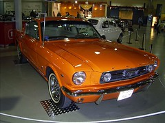 "1966 Ford Mustang GT ""Fastback"" (DeFerrol) Tags: orange ford car muscle international mustang gt fastback"
