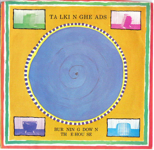 Burning Down The House, 45 single from Talking Heads