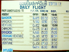 Analogue Flight Display