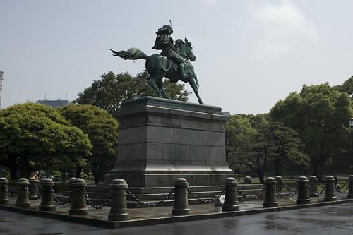 Samurai Statue, Imperial Palace
