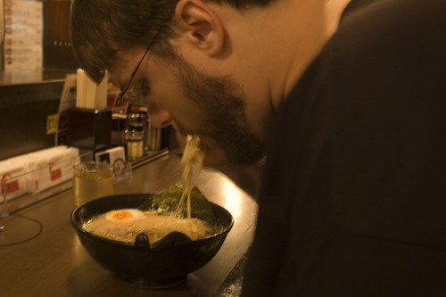 Aaron at the Ramen Shop