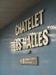 Chatelet Les Halles RER Station (brunoboris) Tags: paris metro ratp wayfinding rer chateletleshalles
