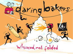 Daring Bakers Orange Logo