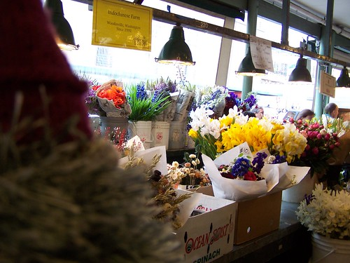 Inside Pike Place market
