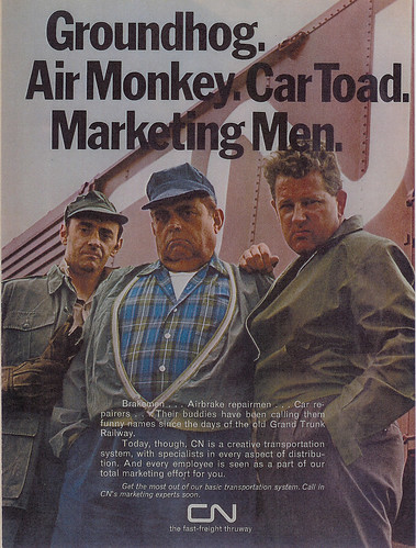 Vintage Ad #240: Air Monkeys...Marketing Men