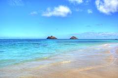 Lanikai Beach Oahu Hawaii (nikonkell Kelly Wade Photography) Tags: lanikaibeachoahuhawaii nikonkell nikond50 hawaii oahu paradise islands beach ocean blue sand kailuahawaii mokuluaislands
