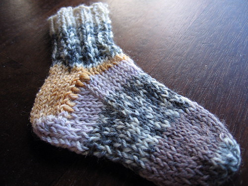 eeny teeny baby sock