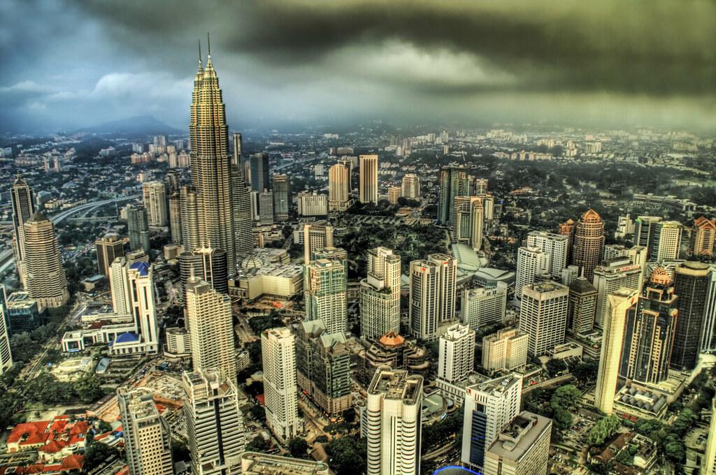 Summer Storm over Kuala Lumpur