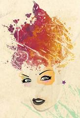 Little Miss Lover (medialunadegrasa) Tags: fire ilustracion juancarlos