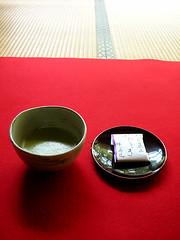 Matcha and Cake (Sgkh) Tags: silhouette japan temple kyoto bamboo tatami   meditation ohara enlightenment     hosenin       framegarden