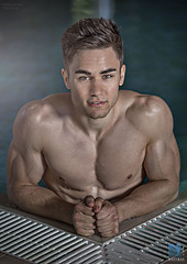 Simon Gooding (TerryGeorge.) Tags: natural models ripped pack fitness six toned abs
