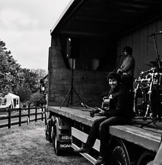 Aodhan (fitzy.brian) Tags: ireland musician music irish film monochrome canon fun clare guitar stage traditional gig rig fiddle a1 agfa canona1 trad asa200 fd gigrig funshoot filmisnotdead filmcommunity carrigoran