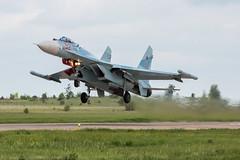AP0A2039_1200 (Nikolay Krasnov) Tags: show blue sky clouds plane canon airplane photo force russia moscow aircraft aviation air flight bluesky follow since airshow helicopter planes sigma120400 5dmk3 zukovski