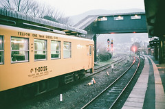 end of journey, i'm going back home. (magicmoment.z) Tags: travel yellow train