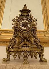 Old Ornamented Clock