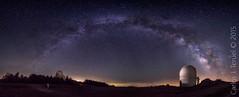 Via Lactea desde el Calar Alto. (Carlos J. Teruel) Tags: nikon le cielo panoramica nocturnas almeria milkyway observatorio 1835 calaralto vialactea nikon1835 xaviersam carlosjteruel d800e nikonafsnikkor1835mmf3545ged
