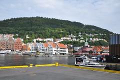 Widok na Górę Fløyen | View at Mt. Fløyen