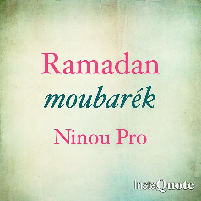 Ramadan moubarék 😄😇😃 #Ninou_pro #PrO #Annaba #Algerie #Facebook ❤️🌹