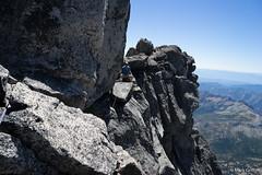 The Airy Step (Mark Griffith) Tags: climb washington hiking top hike climbing mountaineering summit epic alpinism overnighter mtstuart mountstuart benighted wildernesss 20150703dsc07680 airytraverse