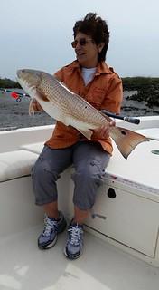 Redfish fishing Amelia Island florida