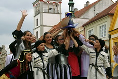 14.7.15 Ceska Pohadka in Trebon 77 (donald judge) Tags: festival youth dance republic czech south performance bohemia trebon xiii ceska esk mezinrodn pohadka pohdka dtskch mldenickch soubor
