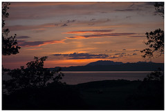 West Coast Scotland, Beach Sunset (theimagebusiness) Tags: travel light sunset shadow sky panorama cloud seascape mountains tourism water beauty silhouette night relax outside outdoors freedom scotland seaside glow open sundown sony cloudjunkie breathtaking inspiring rx westcoastscotland theelements freeaccess scottishphotographers theimagebusiness theimagebusinesscouk photographersinwestlothian