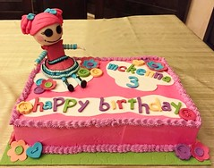 Lalaloopsy cake by Amy, Northern Utah, www.birthdaycakes4free.com