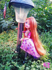 Holly in garden (KTKate_and_Tanya) Tags: high dolls holly after ever mattel basic ohair eah