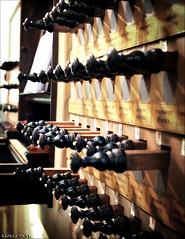 Orgelregisters (Emil de Jong - Kijklens) Tags: light church licht organ muziek kerk orgel knoppen bediening