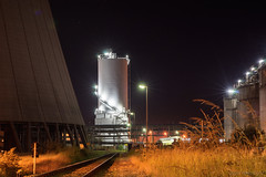 I've seen the future and it will be (OR_U) Tags: longexposure nightphotography industry night stairs germany lights prince oru powerplant 2015 25sec helmstedt