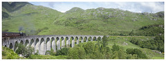 Glenfinnan Viaduct (theimagebusiness) Tags: travel tourism train movie landscape outside outdoors scotland famous harry railway landmark location viaduct glenfinnan glennfinnan westcoastscotland theelements mallaigfortwilliam scottishphotographers theimagebusiness theimagebusinesscouk photographersinwestlothian potterhogwartsexpresssteam