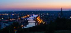 Bonsecours (5 sur 7) (Florian FNX) Tags: sunset seine night golden sony rouen sunburst hours normandie alpha58