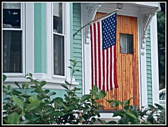 Old Glory On Billerica Road In Chelmsford, MA. On July 28, 2015 - Photo by STEVEN CHATEAUNEUF - Extra High Defination And Sharpness Were Added (snc145) Tags: house americanflag windows leaves foliage photo summer seasons chelmsford massachusetts usa highdefination sharpness stevenchateauneuf america patriotic aviaryediting autofocus simplysuperb flickrunitedaward fun infinitexposure colorsinourworld soe vividstriking thisphotorocks