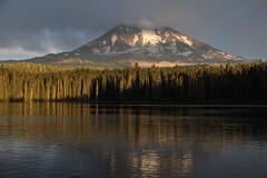 Mt. Adams from Takhlakh Lake