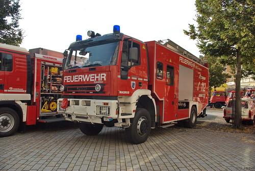 1999 Hilfsleistungslöschfahrzeug-Schiene (HLF 24-16-S) EuroFire 190 EH 30 W Freiw. Feuerwehr Zella-Mehlis