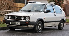H718 CKO (Nivek.Old.Gold) Tags: 1990 volkswagen golf 3door 1272cc