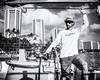 Captain Bobby:  Manu Kai (Ollie - Running on Empty) Tags: nikond7100 afsdxvrnikkor18200mmf3556gifed oliverleverittphotography hawaii oahu waikiki waikikibeach captain manukai catamaran boat cruise monochrome blackandwhite