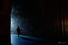Tunnel... (K.BERKİN) Tags: tunnel eminonu istanbul turkey blue morning shadow dark man walk old leica