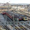 Electric power - parked (jaeschol) Tags: etcs eisenbahn elektrischelokomotive europa hardbruecke kantonzürich kontinent kreis5 lokomotive re420 re420136 re420148 re420161 re460 re460029 re460064 schweiz stadtzürich switzerland transport green grün zürich ch chiquita
