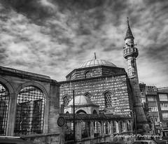 Ahmediye Mosque (`ARroWCoLT) Tags: hdr mobiography uskudar istanbul 1020 lumia bw ahmediyemosque ahmediyecamii osmanlı ottomanempire street ancient blackandwhite monochrome architecture cloud mobilephotography historical tarihi